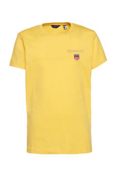 PÓLÓ GANT D1. MEDIUM SHIELD SS T-SHIRT