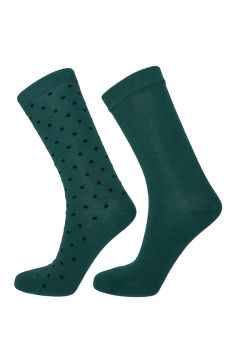 ZOKNI GANT O1. 2-PACK SOLID AND DOT SOCKS