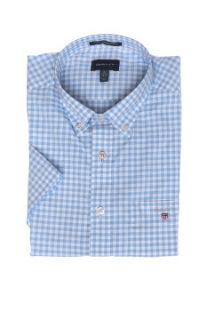 ING GANT THE BROADCLOTH GINGHAM REG SS BD
