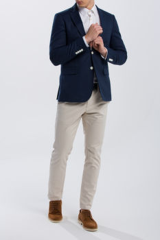 ZAKÓ GANT O2. THE STRETCH LINEN SUIT JACKET