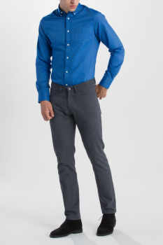 FARMER GANT O1. SLIM COTTON WOOL JEANS