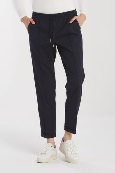 NADRÁG GANT D1. WOOL LOOK PULL ON PANT