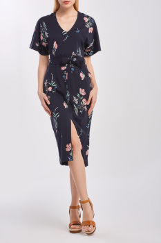 RUHA GANT D2. MEADOW PRINT JERSEY DRESS