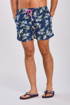 FÜRDŐRUHA GANT LEMON FLOWERS SWIM SHORTS CF