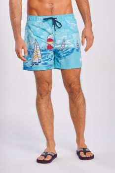 FÜRDŐRUHA GANT SAIL AWAY SWIM SHORTS CF