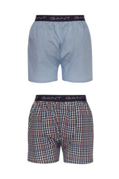 ALSÓNEMŰ GANT MINI GINGHAM BOXER SHORTS 2-PACK