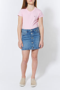 SZOKNYA GANT TG. BUTTON DENIM SKIRT