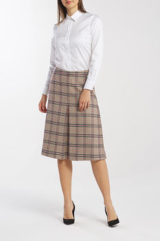 SZOKNYA GANT D1. WASHABLE STRETCH WOOL SKIRT