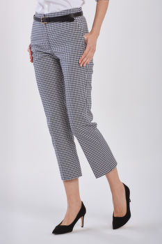 NADRÁG GANT GINGHAM STRETCH CIGARETTE PANT
