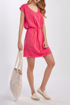 RUHA GANT D2. SUNFADED JERSEY DRESS