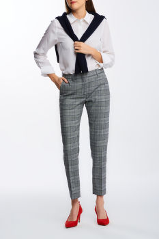 NADRÁG GANT D1. CHECKED CLASSIC TAPERED PANT
