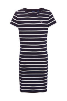 RUHA GANT D1. TG BRETON STRIPED JERSEY DRESS