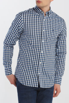 ING GANT D1. HEATHER OXFORD GINGHAM REG BD