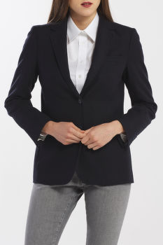 ZAKÓ GANT D1. WASHABLE STR WOOL REG BLAZER
