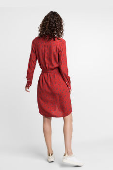 RUHA GANT D1. BREEZY HARVEST SHIRT DRESS