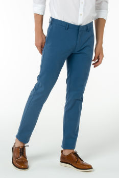 GANT O1. TAILORED CASUAL TWILL SLACKS