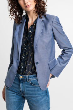 ZAKÓ GANT D1. WASHABLE CHAMBRAY BLAZER