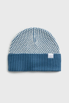 SAPKA GANT D1. BI COLOR KNIT HAT