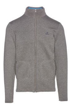 PULÓVER GANT D1. DOUBLE FACED FULL ZIP CARDIGAN