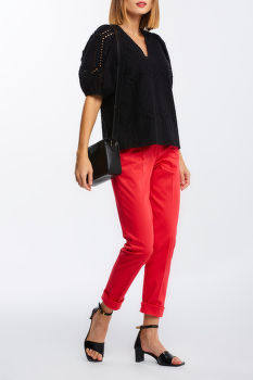 ING GANT D2. EMBROIDERY ANGLAISE TOP