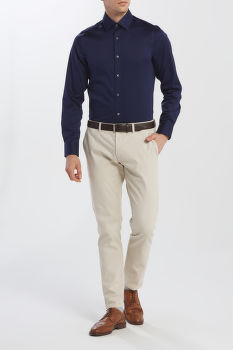 ING GANT STRETCH PLAIN SATEEN REG TOWN