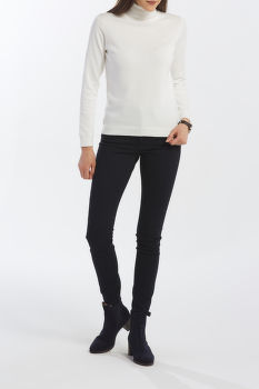 KARDIGÁN GANT LT WEIGHT COTTON TURTLE NECK