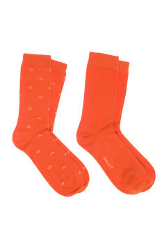 ZOKNI GANT O1. 2-PACK GANT AND SOLID SOCKS