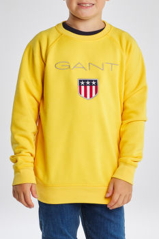 MELEGÍTŐ GANT SHIELD LOGO SWEAT C-NECK