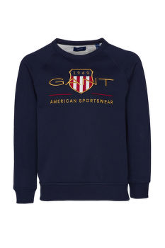 MELEGÍTŐ FELSŐ GANT ARCHIVE SHIELD C-NECK SWEAT