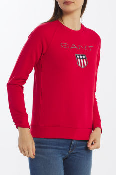 MELEGÍTŐ GANT SHIELD LOGO C-NECK SWEAT