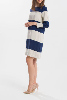 RUHA GANT O1. FLUID STRIPED DRESS