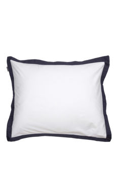 HUZAT GANT SATEEN BORDER PILLOWCASE 50x60