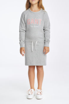 RUHA GANT D1. NEW HAVEN SWEAT DRESS