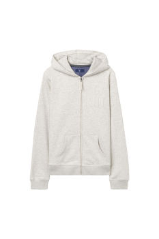 Melegítő GANT O. COLLEGIATE FULL ZIP SWEAT HOODIE