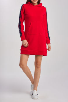 RUHA D1.GANT ARCHIVE SWEAT HOODIE DRESS