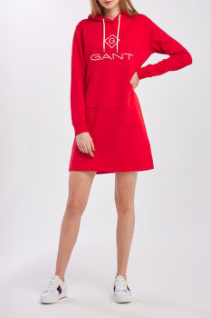 RUHA  GANT  LOCK UP HOODIE DRESS