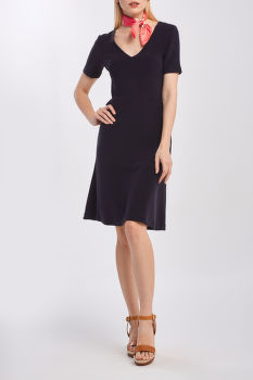 RUHA GANT D1. RIB STRUCTURE DRESS