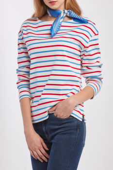PÓLÓ GANT D1. STRIPED BOATNECK SWEAT