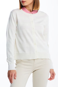 KARDIGÁN GANT LIGHT COTTON C-NECK CARDIGAN