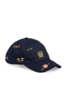 SAPKA GANT D1. ALL OVER CREST CAP