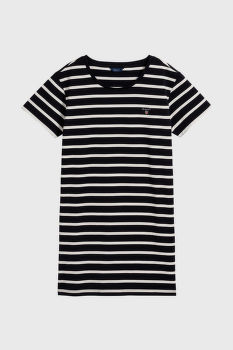 RUHA GANT TG BRETON STRIPED JERSEY DRESS