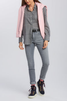 ING GANT D2. HOUNDSTOOTH RELAXED SHIRT