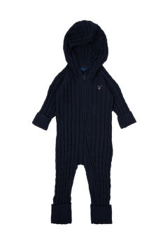 KARDIGÁN GANT D1. COTTON CABLE ZIP COVERALL