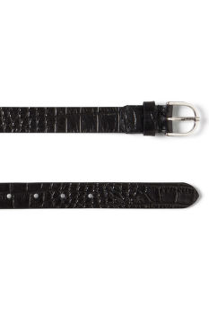 Öv GANT OP2. EMBOSSED LEATHER BELT