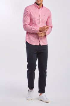 ING GANT THE BROADCLOTH GINGHAM SLIM BD