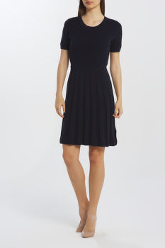 RUHA GANT D2. POINTELLE KNITTED DRESS