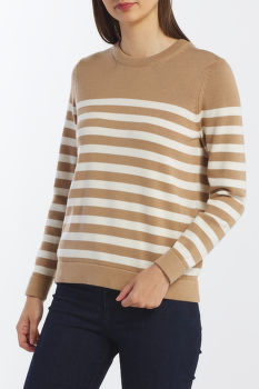 KARDIGÁN GANT D1. STRIPED COTTON CREW