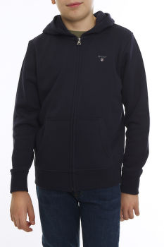 MELEGÍTŐ FELSŐ GANT D1. THE ORGL FULL ZIP SWEAT HOODIE
