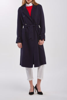 KABÁT GANT D1. FLUID TRENCH COAT