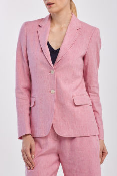 ZAKÓ GANT D2. STRETCH LINEN REGULAR BLAZER